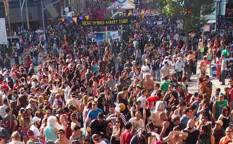 18th Annual How Weird Street Faire Main Image